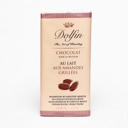 Bio čokoláda s mandlemi (náhled)