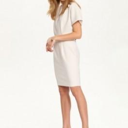 Bílé minimalistické šaty (náhled)