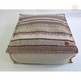 Originální pletený sedák (náhled)