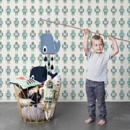 Robotí tapeta (náhled)