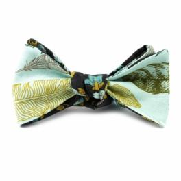 Pánský tyrkysový motýlek (náhled)