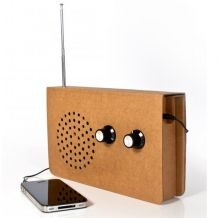 Kartonové rádio (náhled)