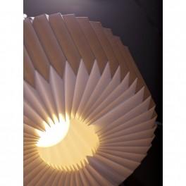 Plisovaná lampa (náhled)