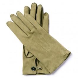 Kožené rukavice s knoflíkem (náhled)