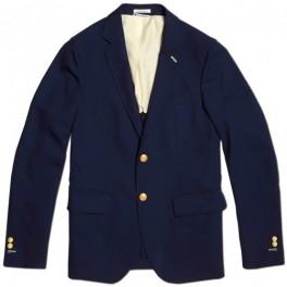 Tmavě modrý blazer (náhled)