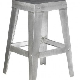 Kovová stolička (náhled)