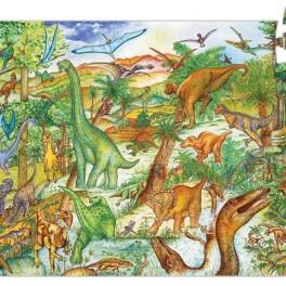 Puzzle dinosauři (náhled)