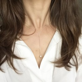 Náhrdelník s perlou (náhled)