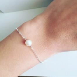 Náramek s perlou (náhled)
