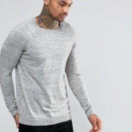 Pánský šedý svetr (náhled)