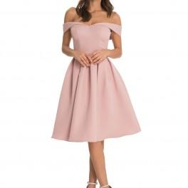 Růžové šaty (náhled)