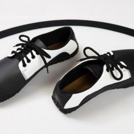 Černobílá společenská barefoot (náhled)
