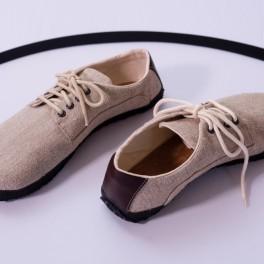 Lněné barefoot boty (náhled)