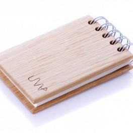 Dubový zápisník (náhled)