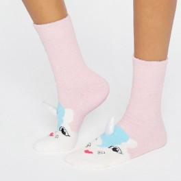 Unicorní ponožky (náhled)