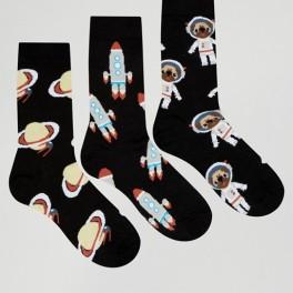 Astronautské ponožky (náhled)