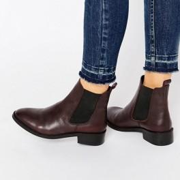Kožené chelsea boots (náhled)