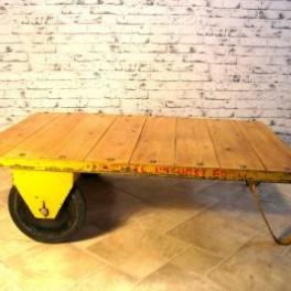 Industriální stolek (náhled)