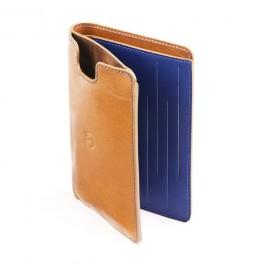 Obal na iPhone s peněženkou v kůži (náhled)