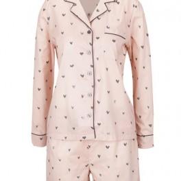 Srdíčkové pyžamo (náhled)