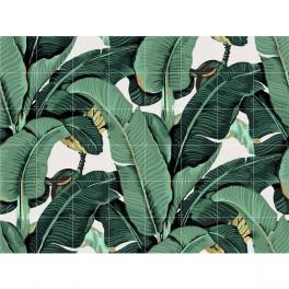 Banánovníková mozaika (náhled)