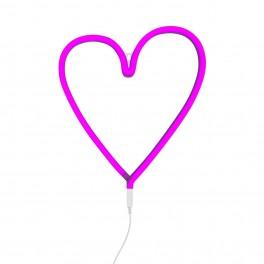 Neonové srdce (náhled)