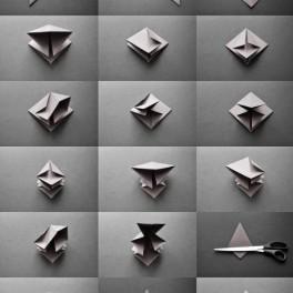 Origami jedlička (náhled)