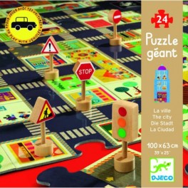 Djeco Puzzle silnice