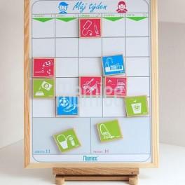 Magnetická plánovací tabule pro děti (náhled)