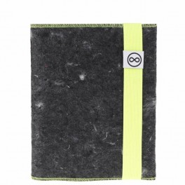 """""""Dobrý"""" žluto-šedý zápisník FOREWEAR (náhled)"""