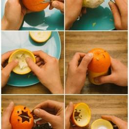 Svítící pomeranč (náhled)