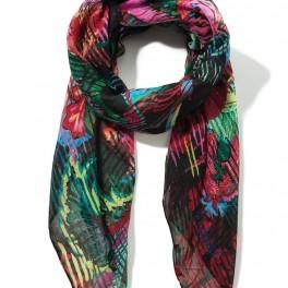 Barevný šátek (náhled)