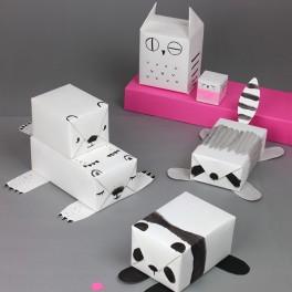 Zvířátkový papír (náhled)