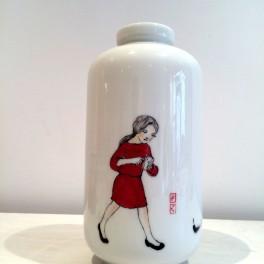 Porcelánová váza (náhled)