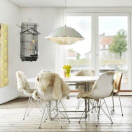 Bílá židle DSR (náhled)