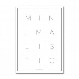 Plakát Minimalistic (náhled)
