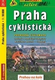 Mapa Prahy pro cyklisty (náhled)