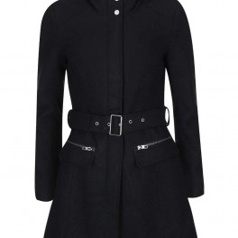 Kabát s páskem (náhled)