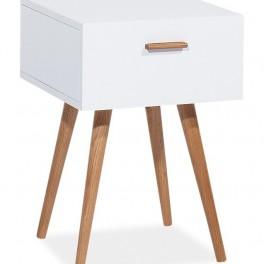 Bílý stolek (náhled)