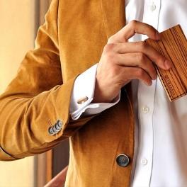 Zebrawood peněženka (náhled)