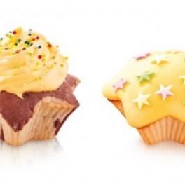 Hvězdičkové muffiny (náhled)