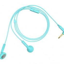 Tyrkysová sluchátka (náhled)