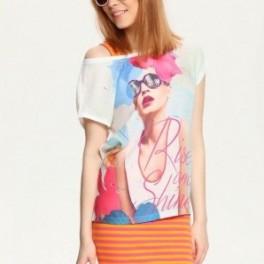 Tričko s dámou (náhled)