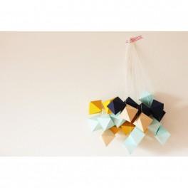 Papírové krystaly (náhled)