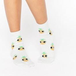 Ananasové ponožky (náhled)