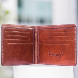 Kožená slim peněženka (náhled)