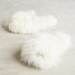 Huňaté papuče (náhled)