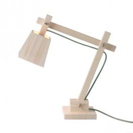 Dřevěná lampa (náhled)
