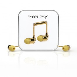 Zlaté Happy Plugs (náhled)