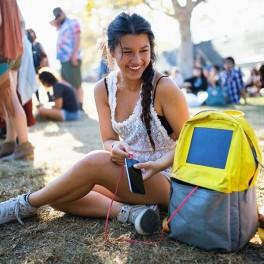 Solární batoh (náhled)